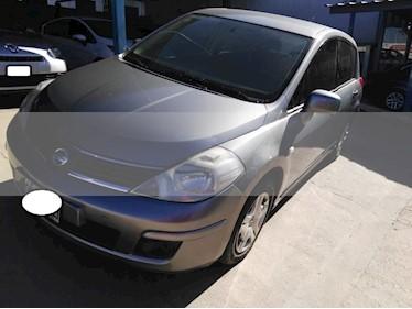 Foto venta Auto usado Nissan Tiida Visia (2008) color Gris Oscuro precio $255.000