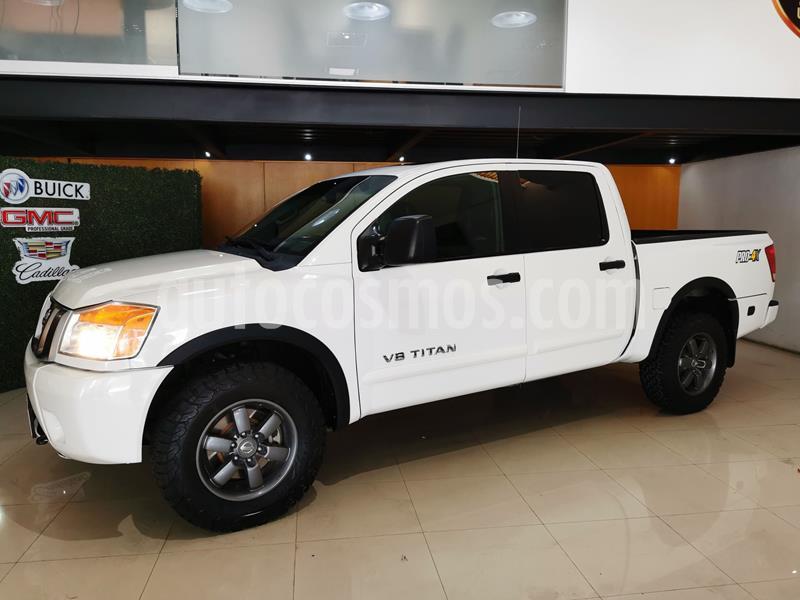 Nissan Titan Crew Cab 4x4 PRO-4X usado (2014) color Blanco precio $294,000