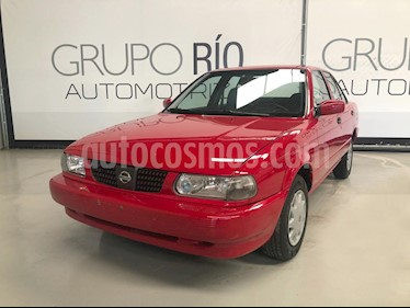 Foto venta Auto usado Nissan Tsuru GS II Aut Ac (2014) color Rojo precio $119,000