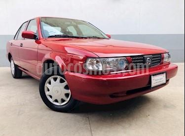 Nissan Tsuru GS II usado (2017) color Rojo precio $80,000