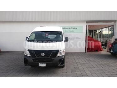 Foto venta Auto usado Nissan Urvan 12 Pas Aa Pack Seguridad (2018) color Blanco precio $399,000