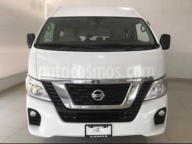 Foto venta Auto usado Nissan Urvan 12 Pas Aa Pack Seguridad (2018) color Blanco precio $415,000