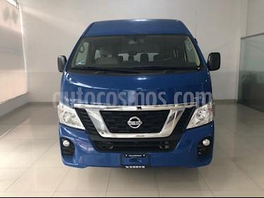 Foto venta Auto usado Nissan Urvan 15 Pas Amplia Aa Pack Seguridad (2018) color Azul precio $415,000