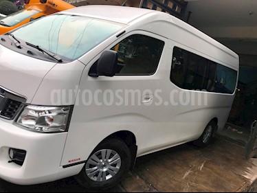 Foto venta Auto usado Nissan Urvan 15 Pas Amplia Aa Pack Seguridad (2015) color Blanco precio $320,000