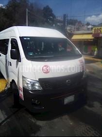 Nissan Urvan 15 Pas Amplia Aa Pack Seguridad usado (2015) color Blanco precio $315,000
