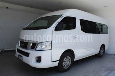 Foto venta Auto usado Nissan Urvan 15 Pas Amplia Pack Seguridad (2017) color Blanco precio $385,000