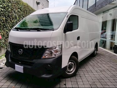 Nissan Urvan 4p Amplia L4/2.5 Diesel Man P/Seg 15/Pas usado (2018) color Blanco precio $395,000