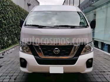 Foto venta Auto usado Nissan Urvan 4p Amplia L4/2.5 Man 15/Pas P/Seg (2018) color Blanco precio $450,000