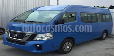 Foto venta Auto usado Nissan Urvan 4p L4/2.5 Man 12/Pas P/Seg (2018) color Azul precio $395,000