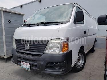 Foto venta Auto usado Nissan Urvan DV Diesel Panel Larga 5P (2009) color Blanco precio $150,000