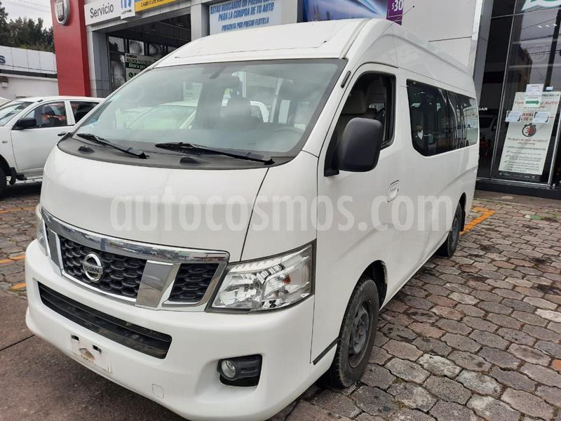 Nissan Urvan 15 Pas Amplia  usado (2015) color Blanco precio $287,000