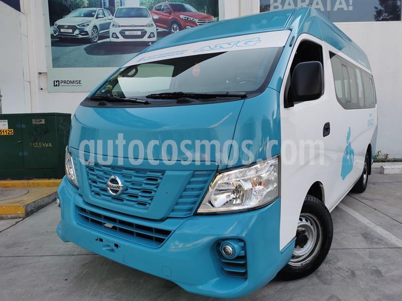 Nissan Urvan 12 Pas Aa usado (2020) color Blanco precio $450,000