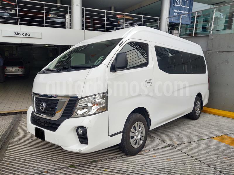 Nissan Urvan 15 Pas Amplia Aa Pack Seguridad usado (2019) color Blanco precio $425,000
