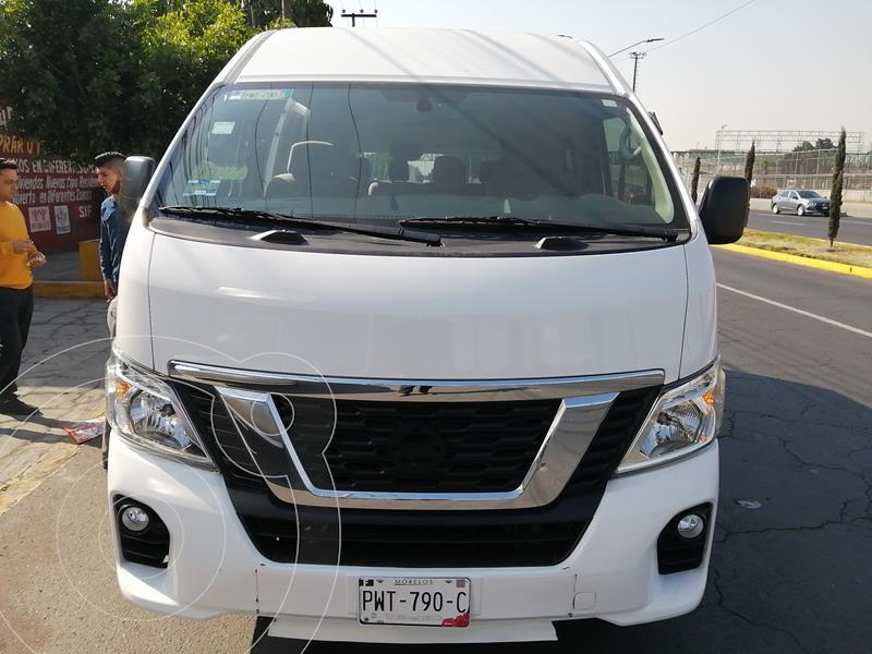Nissan Urvan 12 Pas Aa usado (2019) color Blanco precio $485,000