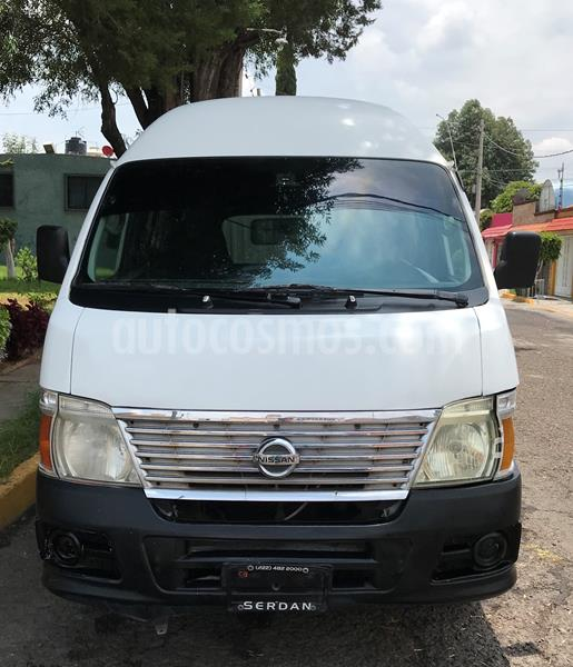Nissan Urvan 15 Pas Amplia  usado (2012) color Blanco precio $155,000