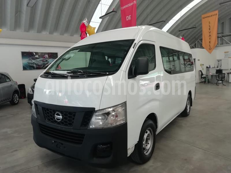 Nissan Urvan Diesel Panel Toldo Alto 5P  usado (2017) color Blanco precio $329,000