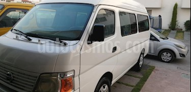Nissan Urvan Panel Vidrio Toldo Alto 4P usado (2008) color Blanco precio $105,000