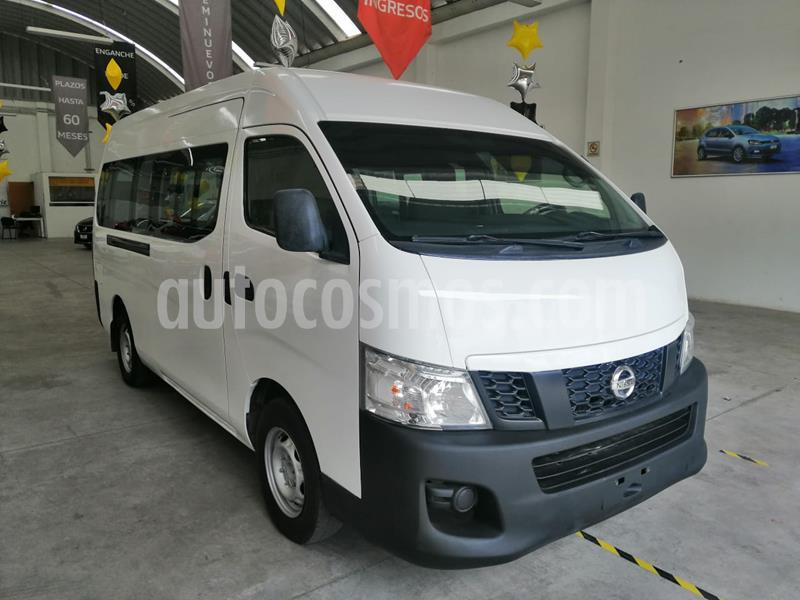 Nissan Urvan 15 Pas Amplia Aa Pack Seguridad usado (2014) color Blanco precio $200,000