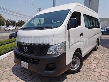 Nissan Urvan 12 Pas Aa usado (2017) color Blanco precio $325,000