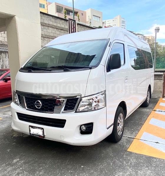 Nissan Urvan 15 Pas Amplia  usado (2017) color Blanco precio $348,000