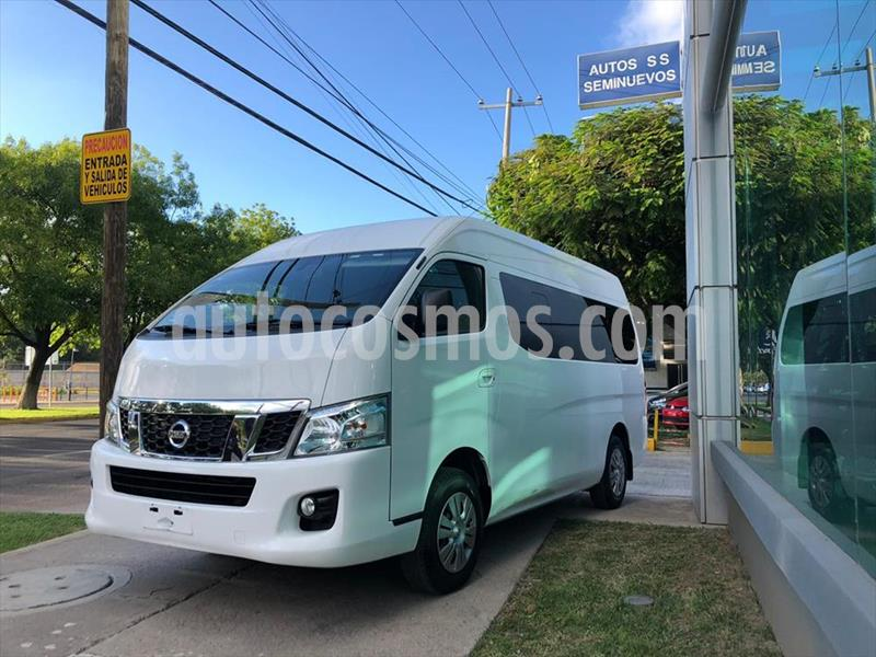 Nissan Urvan 15 Pas Amplia Aa usado (2017) color Blanco precio $359,000