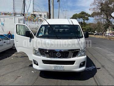 Nissan Urvan 15 Pas Amplia Aa usado (2016) color Blanco precio $320,000