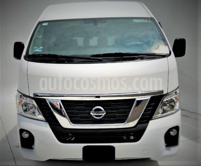 Nissan Urvan 15 Pas Amplia Aa usado (2019) color Blanco precio $439,999