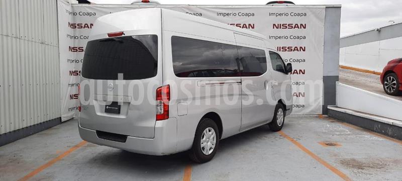 Nissan Urvan 15 Pas Amplia Aa usado (2019) color Gris precio $390,000