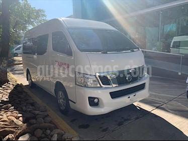 Nissan Urvan 15 Pas Amplia Aa Pack Seguridad usado (2017) color Blanco precio $360,000