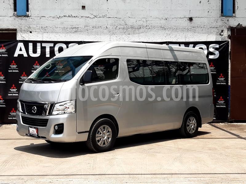 Nissan Urvan 12 Pas Aa Pack Seguridad usado (2017) color Plata precio $370,000