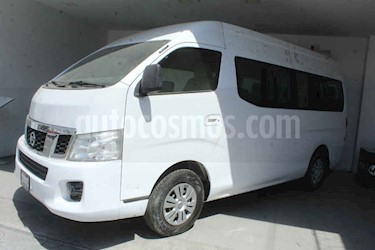 Nissan Urvan 4p Amplia L4/2.5 Man 15/Pas P/Seg usado (2016) color Blanco precio $315,000