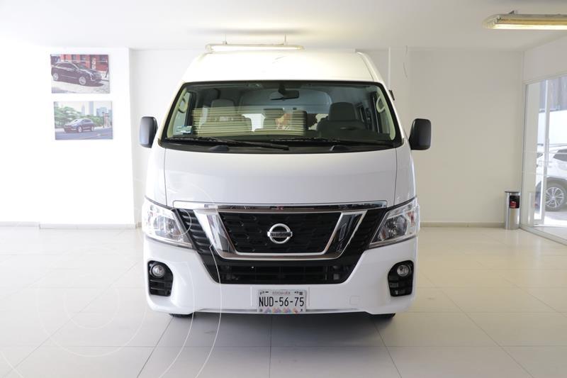 Nissan Urvan 15 Pas Amplia Aa usado (2020) color Blanco precio $455,000