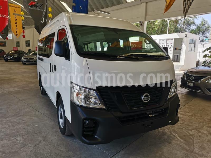 Nissan Urvan Panel Amplia usado (2018) color Blanco precio $338,000