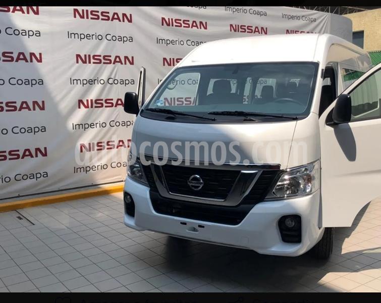 foto Nissan Urvan Diesel Larga 15 Pas 4P Ac usado (2020) color Blanco precio $499,999