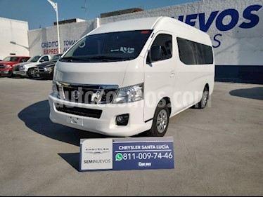 Nissan Urvan 15 Pas Amplia Aa usado (2017) color Blanco precio $410,000