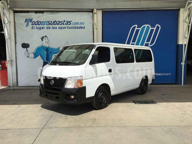 Nissan Urvan GX Larga 15 Pas Ac usado (2011) color Blanco precio $60,000