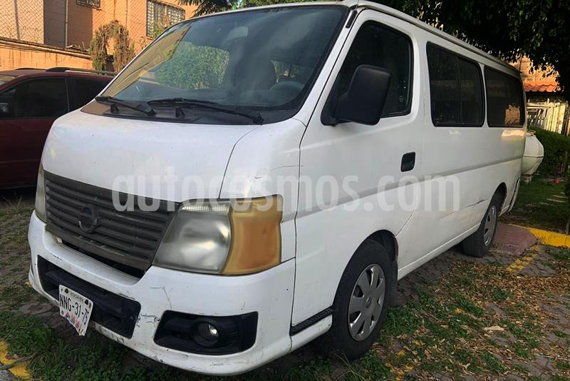 Nissan Urvan GX Larga 9 Pas Ac usado (2008) color Blanco precio $110,000