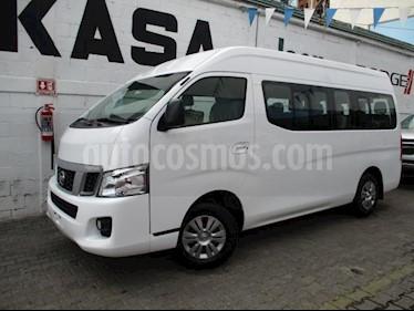 Nissan Urvan 4P AMPLIA L4/2.5 MAN A/A 15/PAS usado (2017) color Blanco precio $385,000