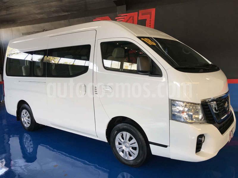Nissan Urvan 15 Pas Amplia Pack Seguridad usado (2018) color Blanco precio $395,000