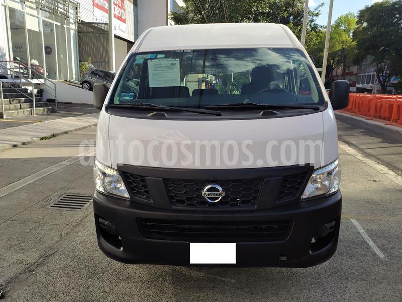 Nissan Urvan DV Panel Larga usado (2015) color Blanco precio $250,000