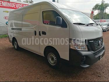 Nissan Urvan DV Diesel Panel Larga usado (2018) color Blanco precio $355,000