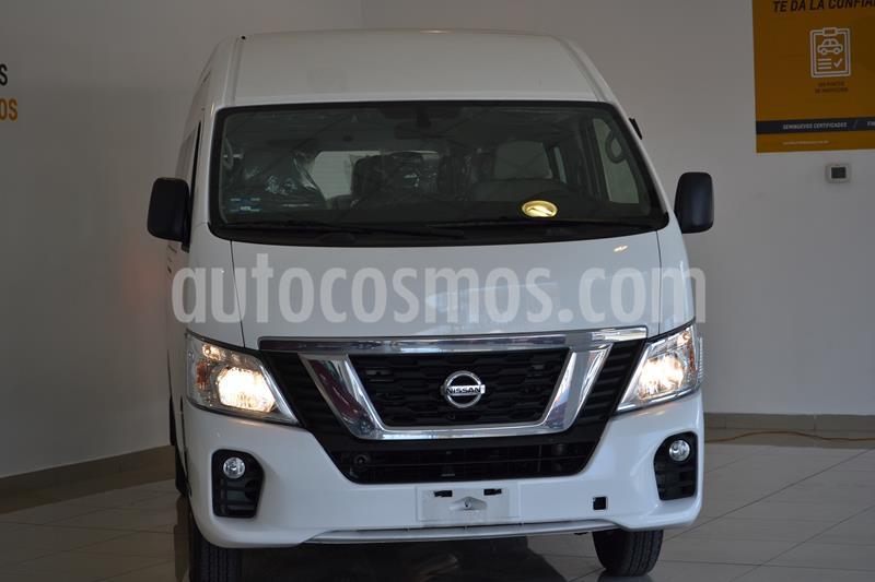 Foto Nissan Urvan 15 Pas Amplia  usado (2020) color Blanco precio $505,000
