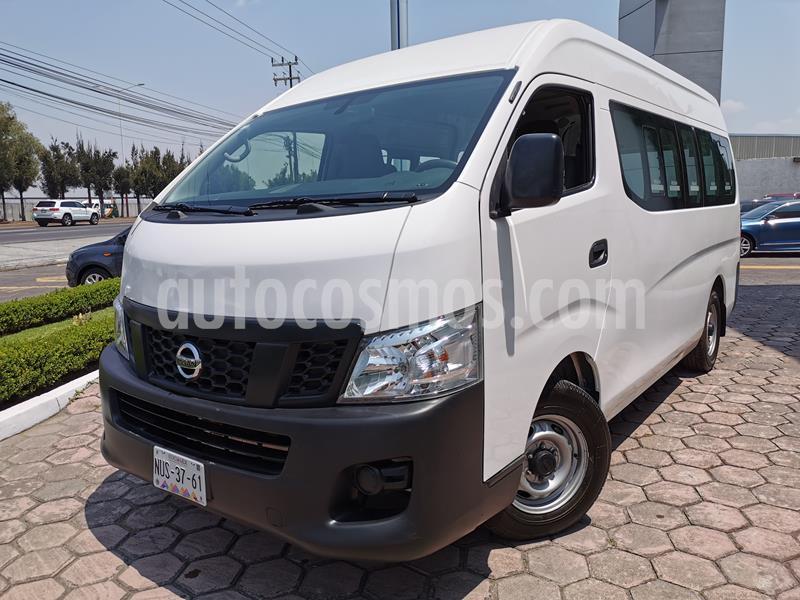 Nissan Urvan 12 Pas Aa usado (2017) color Blanco precio $315,000