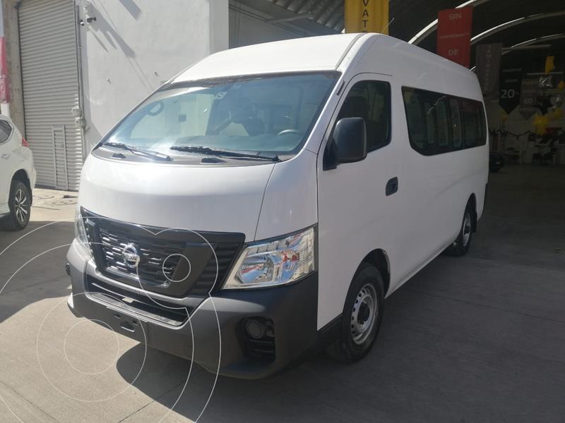 Nissan Urvan Panel Ventanas Amplia Pack Seguridad usado (2019) color Blanco precio $380,000