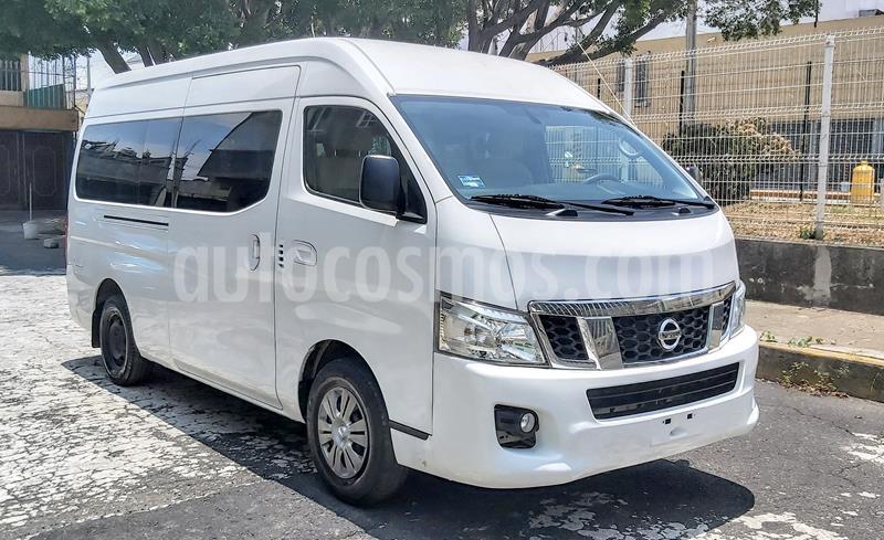 Nissan Urvan 15 Pas Amplia Aa Pack Seguridad usado (2017) color Blanco precio $355,000