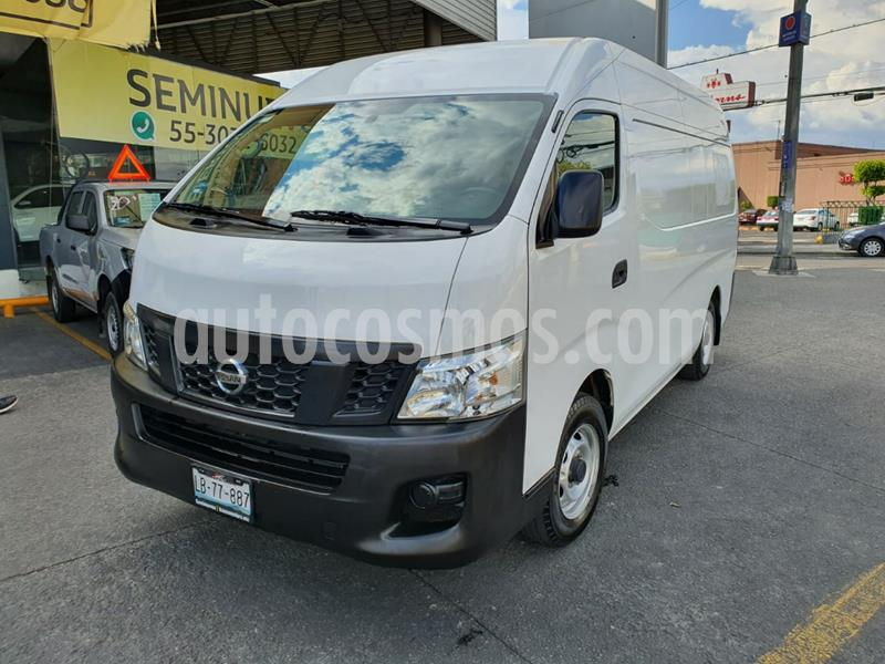Nissan Urvan Panel Amplia usado (2017) color Blanco precio $339,000