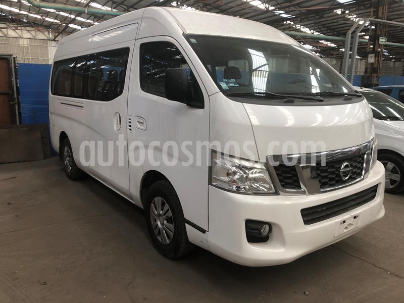 Nissan Urvan 15 Pas Amplia Aa usado (2016) color Blanco precio $290,000