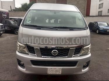 Nissan Urvan 15 Pas Amplia Aa Pack Seguridad usado (2017) color Plata precio $325,000