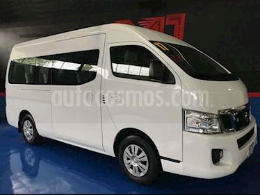 Nissan Urvan 15 Pas Amplia Aa Pack Seguridad usado (2017) color Blanco precio $371,000