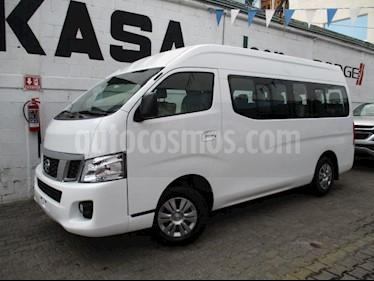 Nissan Urvan 4p Amplia L4/2.5 Man A/A 15/Pas usado (2016) color Blanco precio $375,000